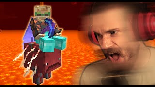 DO NOT Ride The New Minecraft Mount! by PewDiePie
