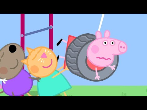 Peppa Pig in Hindi - The Playground - Khel ka Maidan - हिंदी Kahaniya - Hindi Cartoons for Kids