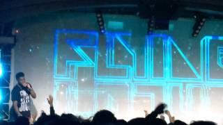 Flying Lotus - Never Catch Me + Grammy talk (Live at Teragram Ballroom)