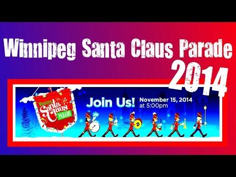 Winnipeg Santa Claus Parade 2014 | Full Version.