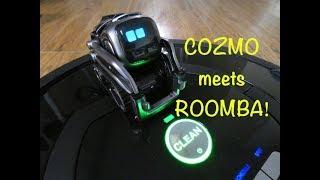 Video Cozmo meets Roomba MP3, 3GP, MP4, WEBM, AVI, FLV Desember 2018