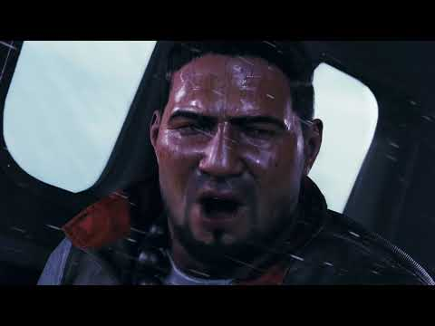 Shadow of the Tomb Raider - Lara Croft & Jonah Maiava Plane Crash Introduction Cutscene (2018)