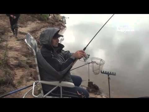 ловля леща на оке на фидер в апреле видео