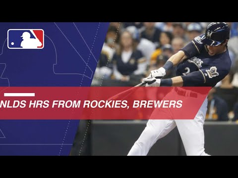 Video: Watch all home runs from NLDS between Rockies and Brewers