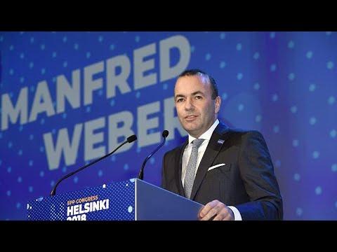 ΕΛK: Το χρίσμα στον Μάνφρεντ Βέμπερ