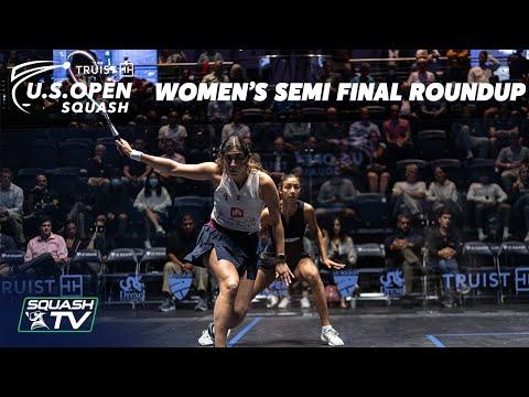 Squash: U.S. Open 2021 - Women's Semi Final Roundup