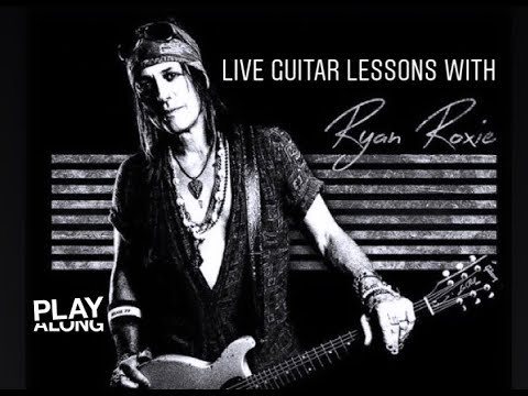 Alice Cooper guitarist Ryan Roxie teaches YOU Electric Guitar (Man of the Year)