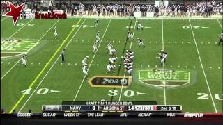 Marion Grice vs Navy (2012 Bowl)