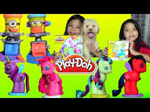 Play-Doh Despicable Me Minions Stamp And Roll Play-Doh My Little Pony Make 'n Style