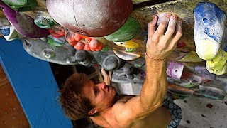 Back on Small Holds : Fingery Project + Protein Rich Efficient Cuisine ! Training Vlog by Mani the Monkey