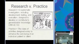Pediatric Research And The IRB (Rebecca Ballard, JD)