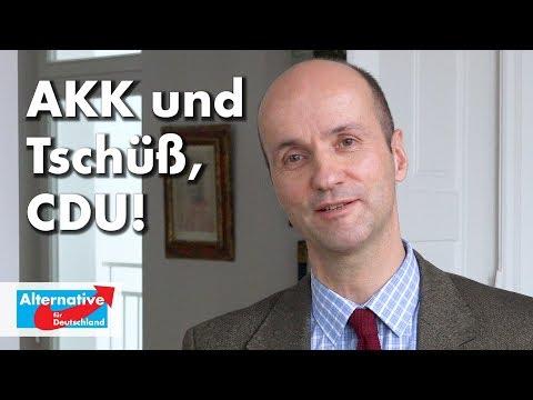Nicolaus Fest zu AKK & Tschüss, CDU!