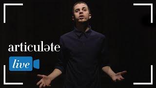 Poet-turned-rapper George Watsky serves up an a cappella version of a fan favorite track.
