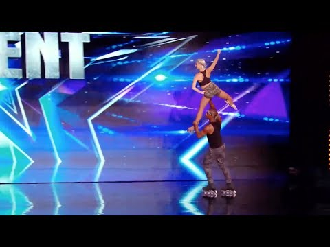 Watch this amazing roller act by Yannick & Annette on France got talent !