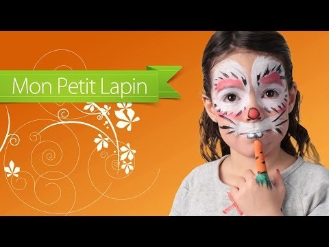 Tutoriel maquillage de lapin