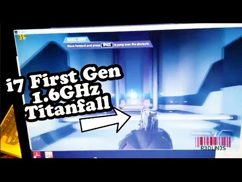 R3DLIN3S - Titanfall Played on i7 First Gen 1.6ghz i7 1.6ghz First Gen plays titanfall. 1.6ghz i7 first gen play titanfall. gt 230m ssd 8gb ram R3DLIN3S redlines red lines.