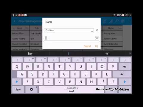 Video of MobiDB Database Designer Pro