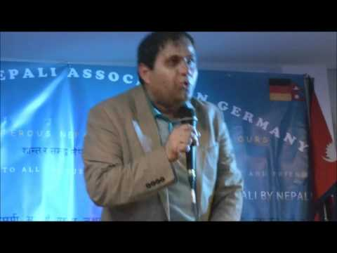 Manoj Gajurel Comedy in Germany