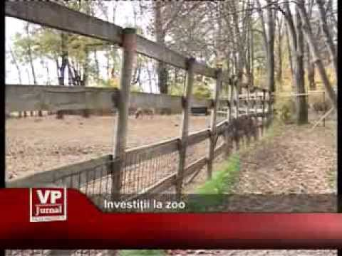 Investiții la zoo