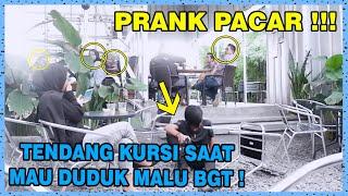 Video PRANK PACAR TENDANG KURSI SAAT MAU DUDUK !!! MP3, 3GP, MP4, WEBM, AVI, FLV April 2019