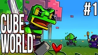 cube world Cube World (Alpha) | Ep.1 | The Hype HYPE HYYYYPEEE!!!