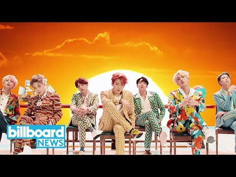 BTS Breaks Youtube's 24-Hour Debut Record with 'Idol' | Billboard News