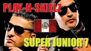 PLAY-N-SKILLZ CONCIERTO DE SUPER JUNIOR LIMA,PERÚ 2018 (HD)