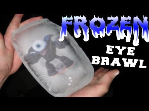 Skylanders Giants: Frozen Eye-Brawl Falls from Sky after Hail Storm (Skylanding)