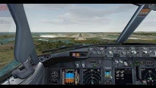 FSX PMDG Air Berlin 737-800 NGX MUNCHEN EDDM To FARO LPFR