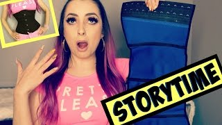 MY WAIST TRAINER SENT ME TO THE HOSPITAL! by Piink Sparkles