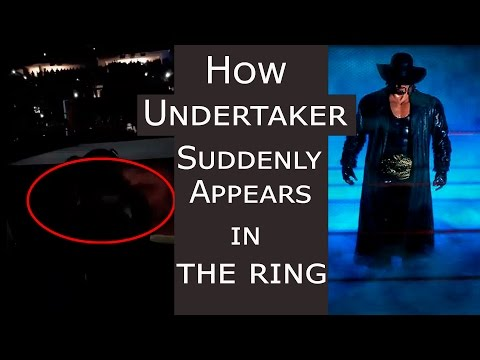 Undertaker's sudden appearance in ring | Secret revealed | TopNewsage