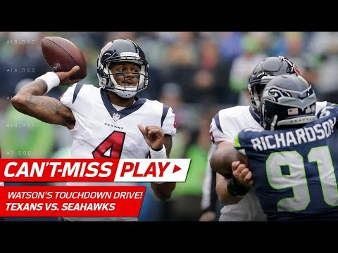 Seattle Can't Stop Deshaun Watson on Amazing TD Drive! | Can't-Miss Play | NFL Wk 8 Highlights (видео)