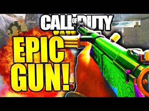 THIS GUN STILL MELTS! EPIC TYPE 100 EMPIRE CALL OF DUTY WW2 BEST GUNS IN COD WW2 \