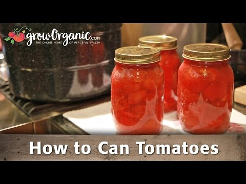 How to Can Tomatoes at Home