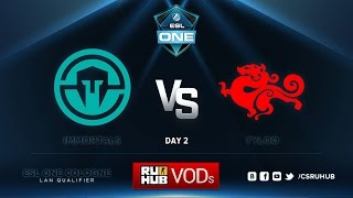 TyLoo vs Immortals, game 1