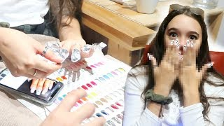 Video I Get $200 Acrylic Nails Done in NYC! Too much $$$? Fiona Frills MP3, 3GP, MP4, WEBM, AVI, FLV November 2018