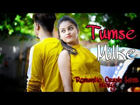 Tumse Milke Dilka Hai Jo Haal |Cute Romantic Love story|Crush Love Song 2019|Brightvision
