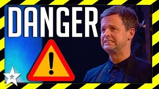 Video Most Dangerous Acts on Britain's Got Talent 2018 | Got Talent Global MP3, 3GP, MP4, WEBM, AVI, FLV Desember 2018