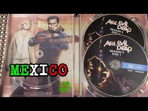ASH vs EVIL DEAD -Temporada 3-STEELBOOK BLU-RAY