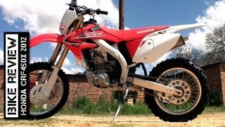 1. Honda CRF450X 2012 Review