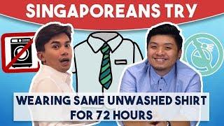 Video Singaporeans Try: Wearing Same Unwashed Shirt For 72 Hours MP3, 3GP, MP4, WEBM, AVI, FLV September 2018