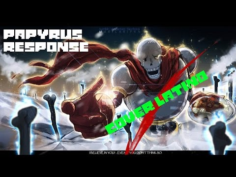 Stronger Than You Disbelief Papyrus Cover latino видео
