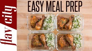 I've got a recipes for chicken you guys are gonna love for meal prepping. This chicken cacciatore chicken recipe is such easy meal prep and tastes so good. The chicken drumsticks and chicken thighs are slow cooked and make for the best recipe for chicken ever. This is great meal prep for beginners because everything is cooked in one pot, so it's super easy meal prepping. I want all of my beginners meal prep to be this easy and tasty because these are fantastic meal prepping ideas. RECIPE: https://goo.gl/TsmtckSUBSCRIBE: http://goo.gl/pWpsoqMacros:653 calories per meal31.5 grams of fat per meal 41.4 grams of carbs per meal39 grams of protein per meal5 grams of fiber per mealGET THE KITCHEN GEAR I USE:my cast iron pot for chicken: http://amzn.to/2q7cASDless expensive cast iron pot for chicken: http://amzn.to/2q7eymmplatter for chicken: http://amzn.to/2qhne9kwooden cooking spoon: http://amzn.to/2r5HlVqglass meal prep containers: http://amzn.to/2neLNQYget my t-shirt: http://bit.ly/2pEuGZa3 quart pot for rice: http://amzn.to/2pEldkHolive oil dispenser: http://amzn.to/2iTIfULNew Videos Every Friday!Follow Me On Social Media:Facebook: https://www.facebook.com/flavcityInstagram: https://www.instagram.com/flavcitySnapchat: flavcityTwitter: https://www.twitter.com/flavcityI'm out to prove that home cooks can be rock stars in the kitchen. I look forward to sharing my recipes & cooking style with you on my channel!Music from Audio Network