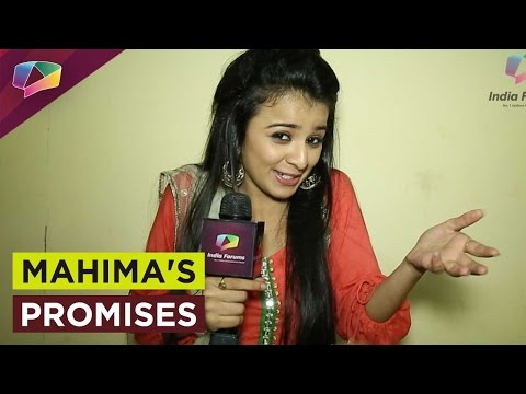 Mahima Makwana's promises for the Promise Day