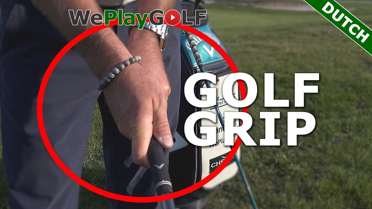 Golf tip voor beginners:  Hoe hou je de golfclub vast? De golf grip!
