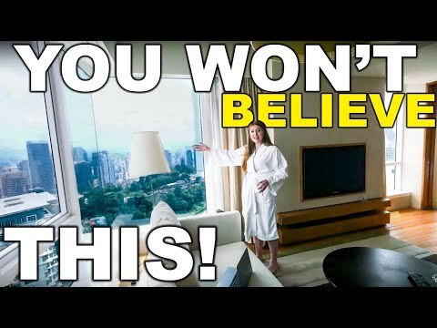 Insane Luxury Apartment In Kuala Lumpur! View Of Petronas Towers From Bed?!