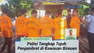 Tujuh Tersangka Komplotan Penjambret Ditangkap, Semuanya Remaja di Bawah Umur