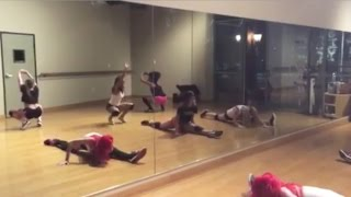 Twerk Routine with Stunts - YouTube