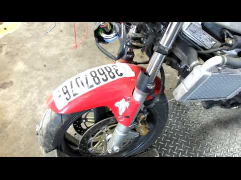 98 Honda VTR 1000 F Superhawk used motorcycle parts for sale