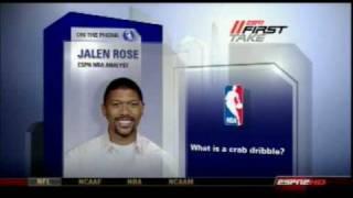LeBron James Crab Dribble - Jalen Rose Explains on ESPN